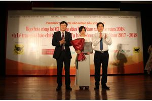 Lễ trao giải báo chí toàn quốc Tự hào Nông dân Việt Nam 2017- 2018