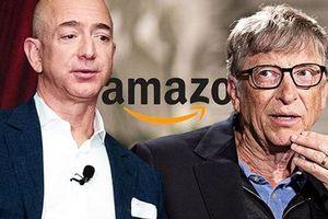 Tỷ phú công nghệ Bill Gates mất 'ngôi vương' về tay Jeff Bezos