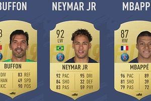 Đội hình 11 ngôi sao có chỉ số cao ngất ngưởng của PSG trong FIFA 19