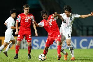 Loại U16 Hàn Quốc, U16 Tajikistan làm nên lịch sử theo phong cách U23 Việt Nam