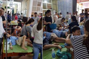 Khoảng 200 học sinh tiểu học ở Ninh Bình nhập viện sau bữa trưa tại trường
