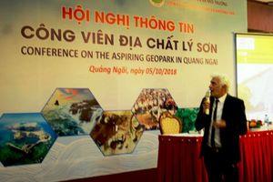 Khảo sát các giá trị di sản của Công viên địa chất Lý Sơn