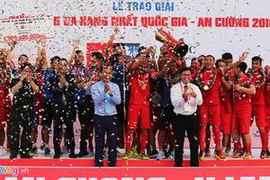 Viettel vô địch Giải hạng Nhất, Hà Nội B đá play-off tranh vé vớt