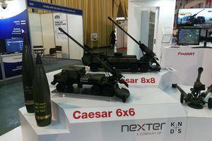 Pháp chào hàng Việt Nam phiên bản nâng cấp của pháo tự hành Caesar