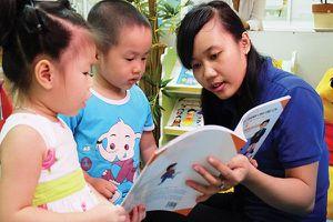 Chọn mua sách truyện cho trẻ mẫu giáo