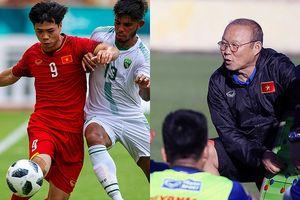 Ông Park chịu sức ép lớn tại AFF Cup 2018