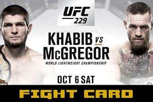 'Khẩu chiến' dữ dội trước trận UFC thế kỷ McGregor - Khabib