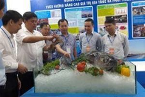 Gần 100 gian hàng tham gia Hội chợ các sản phẩm thủy sản tại Hà Nội