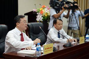 Họp báo thông tin về kết quả Hội nghị lần thứ 8, Ban Chấp hành Trung ương Đảng khóa XII