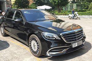 Cận cảnh Mercedes-Maybach S650 giá 16,2 tỷ ở Hà Nội