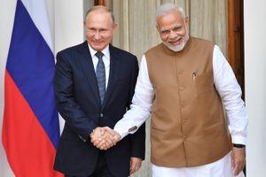 Ấn Độ, Nga đẩy mạnh hợp tác