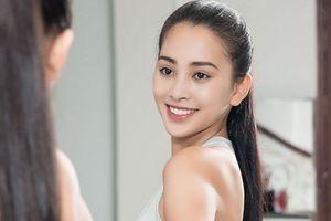 Hoa hậu Trần Tiểu Vy gấp rút tập luyện để thi Hoa hậu Thế giới 2018