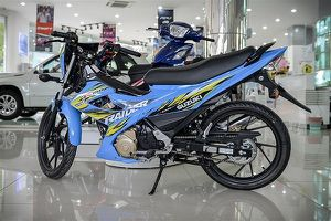 Bảng giá xe máy Suzuki tháng 10/2018