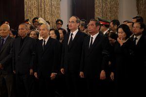 Bí thư Nguyễn Thiện Nhân viếng Nguyên Tổng bí thư Đỗ Mười tại TP.HCM