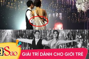 Tranh cãi gay gắt về khoảnh khắc tình tứ của vợ chồng Lan Khuê trong đám cưới