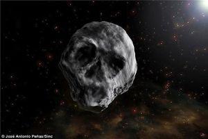 Thiên thạch đầu lâu lại ghé ngang Trái Đất vào sau lễ Halloween sắp tới