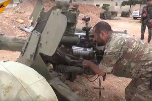 Quân đội Syria tung pháo bắn tỉa săn tăng 'Rapira' MT-12 lâm trận diệt khủng bố