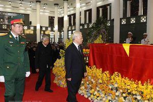 Hình ảnh Lễ Quốc tang nguyên Tổng Bí thư Đỗ Mười