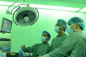 Việt Nam có bước tiến vượt bậc trong phẫu thuật nội soi