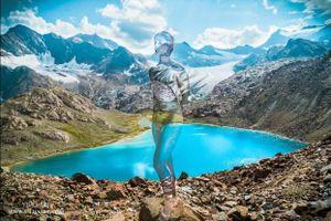 Họa sĩ biến người mẫu 'ẩn thân' giữa thiên nhiên bằng nghệ thuật body painting