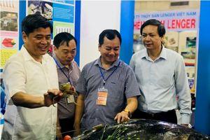 Khai mạc Hội chợ các sản phẩm thủy sản tại Hà Nội