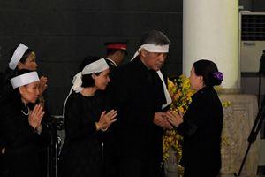 Hội Chữ thập đỏ Việt Nam viếng nguyên Tổng Bí thư Đỗ Mười - nguyên Chủ tịch danh dự Hội