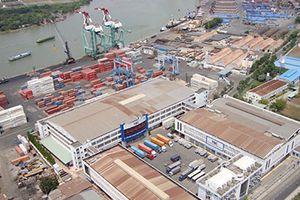 Phí dịch vụ thấp, kinh doanh cảng biển vẫn gặp khó