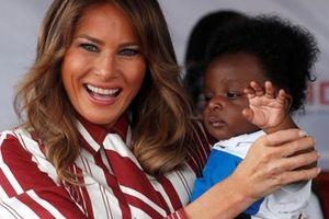 Đệ nhất phu nhân Mỹ rạng ngời kết thúc chuyến thăm đến châu Phi