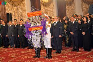 Toàn cảnh Lễ viếng nguyên Tổng Bí thư Đỗ Mười tại TP Hồ Chí Minh