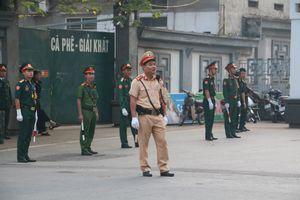 Lực lượng công an, quân đội bảo vệ an toàn cho Quốc tang nguyên Tổng Bí thư Đỗ Mười