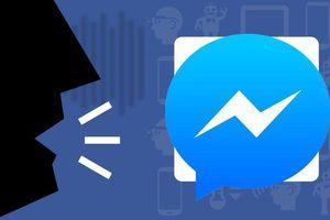 Facebook thử nghiệm đọc và nhắn tin bằng giọng nói