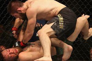 Khabib đánh bại McGregor trong trận đấu thế kỷ