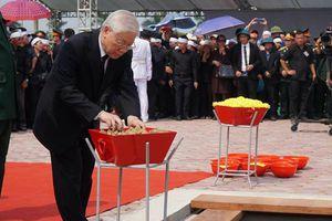 Nguyên Tổng Bí thư Đỗ Mười đã về an nghỉ tại quê nhà Thanh Trì