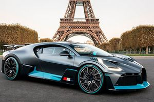 Bugatti Divo giá 135 tỷ đồng tại triển lãm ôtô Paris 2018