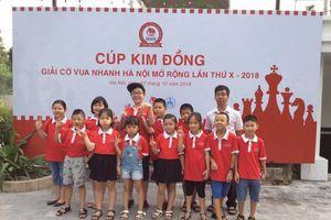 720 kỳ thủ nhí dự Cúp Kim Đồng - Giải cờ vua nhanh Hà Nội