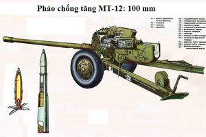 Pháo MT-12 thời Liên Xô vẫn thể hiện xuất sắc tại Syria