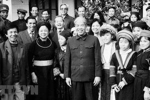 Nguyên Tổng Bí thư Đỗ Mười trong lòng đồng bào các dân tộc thiểu số