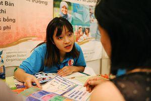 Hàng nghìn bạn trẻ 'săn' học bổng, chương trình du học Nhật Bản