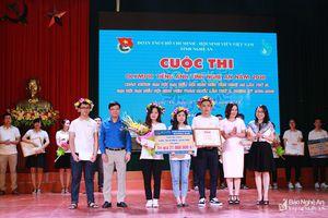 Đại học Vinh giành giải Nhất Cuộc thi Olympic tiếng Anh tỉnh Nghệ An năm 2018