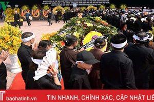 Tổ chức trọng thể lễ truy điệu, an táng nguyên Tổng Bí thư Đỗ Mười
