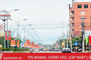 Thị xã Hồng Lĩnh đạt 39/59 tiêu chí đô thị loại III