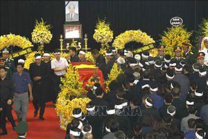 Những hình ảnh đầu tiên tại Lễ truy điệu và đưa tang nguyên Tổng Bí thư Đỗ Mười