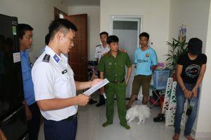 Bộ Tư lệnh Cảnh sát biển bắt quả tang đối tượng vận chuyển ma túy đá