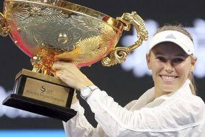 Thắng dễ Sevastova, Wozniacki vô địch China Open 2018