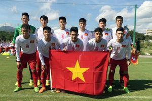 U17 Việt Nam quyết đấu Thái Lan ở giải U17 Jenesys
