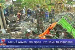 Chính phủ Indonesia hỗ trợ người dân dựng lại nhà cửa