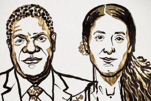 Nobel Hòa bình 2018 vinh danh bác sĩ và nhà hoạt động chống bạo lực tình dục