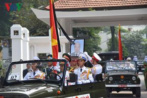 Xúc động hình ảnh lễ truy điệu nguyên Tổng Bí thư Đỗ Mười