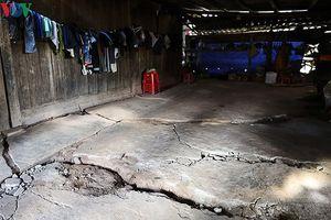 Điện Biên chỉ đạo khẩn trương khắc phục sụt lún khu vực xã Tìa Dình