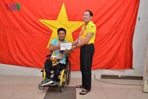 Thể thao người khuyết tật Việt Nam có HCV đầu tiên ở Asian Para Games 3
